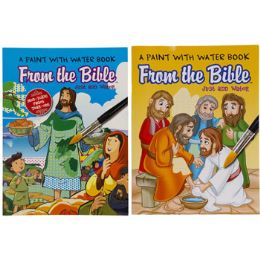 48 Units of Paint With Water Bible Stories - Art Paints