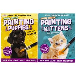 48 Units of Paint With Water Animal Rescue - Art Paints