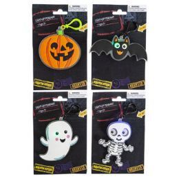 48 Units of Pendant W/clip Liteup For T-0-T - Halloween & Thanksgiving