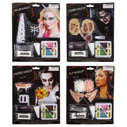 24 Units of Makeup Kit Halloween 4ast - Halloween & Thanksgiving