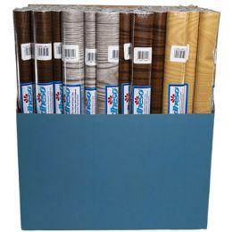 72 Wholesale Shelf Liner Adheso - Wood Grains