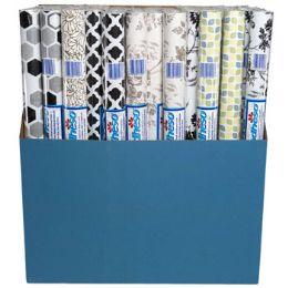72 Wholesale Shelf Liner Adheso - Asst Prints