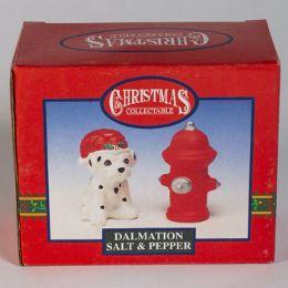 72 Wholesale Christmas Salt N Peper Dalmation
