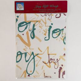 144 Units of Gift Wrap Joy Peggable - Gift Bags Assorted