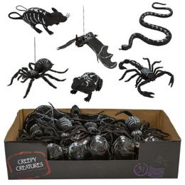 24 Units of Creepy Creature 6ast In 24pc Pdq - Halloween & Thanksgiving