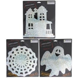48 Units of Placemat Halloween Holographic - Halloween & Thanksgiving