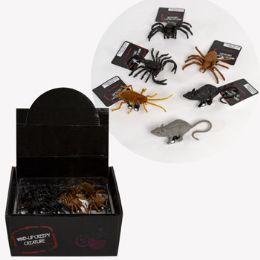 24 Units of Creepy Creature PulL-Back - Halloween & Thanksgiving