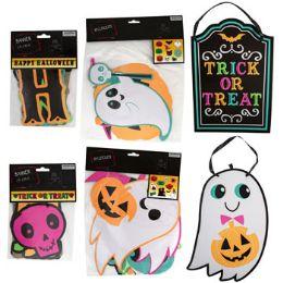 48 Units of Halloween Decorations 6ast - Halloween & Thanksgiving