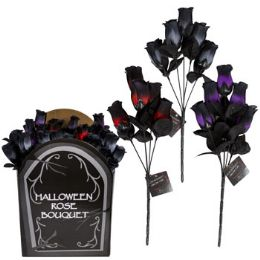 48 Units of Rose Bush Halloween 5-Stem - Halloween & Thanksgiving