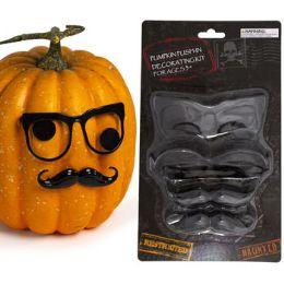24 Units of Pumpkin PusH-In Decorating Kit - Halloween & Thanksgiving