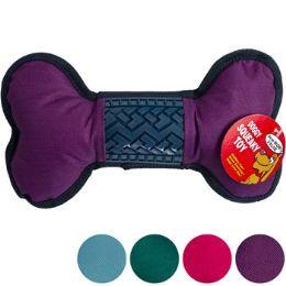 36 Wholesale Dog Toy Canvas/rubber Bone