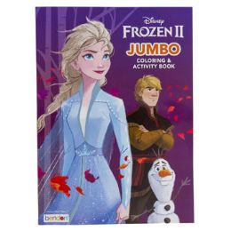 24 Units of Coloring Book Frozen 2 Jumbo - Coloring & Activity Books