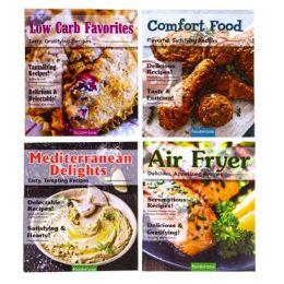 24 Units of Cookbooks 4 Asst 72pg - Kitchen & Dining