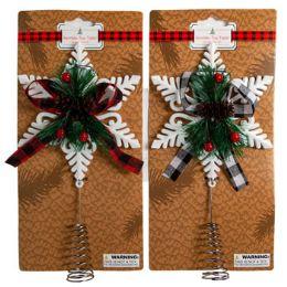 12 Wholesale Tree Topper Snowflake Buffalo