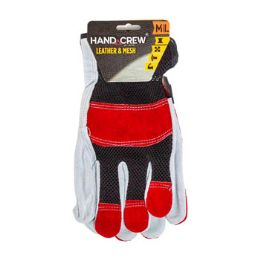 12 Units of Gloves Cowhide Leather M/l - Leather Gloves