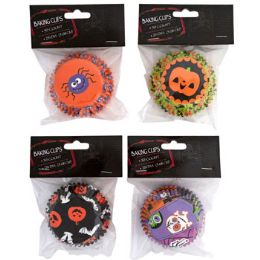 24 Units of Baking Cups 50ct 2in Halloween - Halloween & Thanksgiving