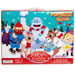 12 Wholesale Fun Pack Rudolph Pop Outz