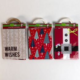 40 Units of Gift Card Bag 3pk Assorted - Gift Bags Assorted