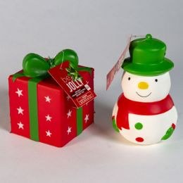 40 Wholesale Christmas Squishy Toy 3 Asst