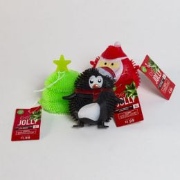 45 Wholesale Christmas LighT-Up Squishy Toy