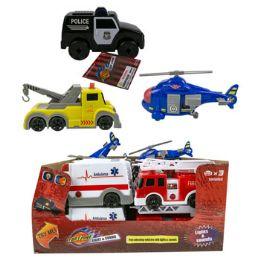 24 Wholesale Toy Trucks Emergency Vehicles
