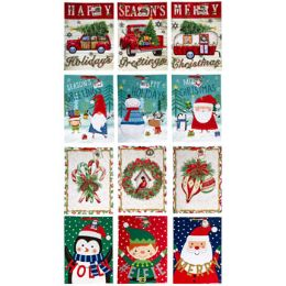 72 Units of Gift Bag Xl Christmas 12ast - Gift Bags Assorted