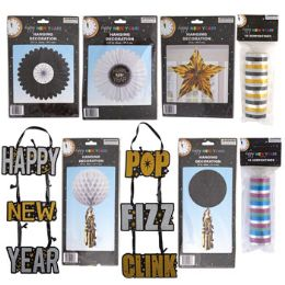 48 Units of New Year Party Decor 8ast - New Years