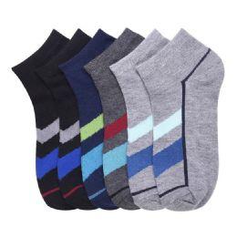 432 Units of POWER CLUB SPANDEX SOCKS (TOWARD) 0-12 - Boys Ankle Sock