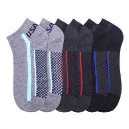 432 Units of POWER CLUB SPANDEX SOCKS (USA4) 10-13 - Mens Ankle Sock