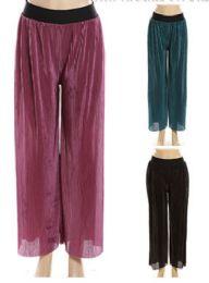 48 Units of Womens Fashion Chiffon Pants - Womens Pants