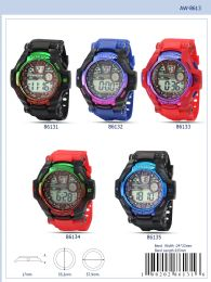 12 Units of Digital Watch - 86132 Assorted Colors - Watches