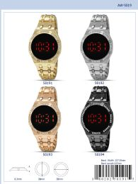 12 Units of Digital Watch - 50193 Assorted Colors - Watches