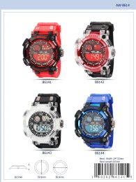 12 Units of Digital Watch - 86141 Assorted Colors - Watches