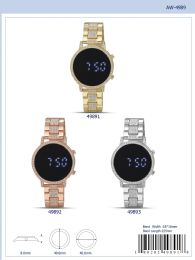 12 Units of Digital Watch - 49893 Assorted Colors - Watches