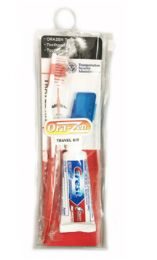 48 Bulk Crest Toothbrush Toothpaste Travel Set Pouch