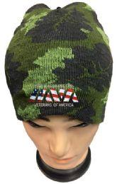48 Wholesale IRAQ & AFGHANISTAN Veterans Camo winter Beanie