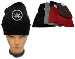48 Units of Marijuana Winter Beanie Hat - Winter Beanie Hats