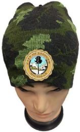 48 Units of City of SAGINAW Camo color Winter Beanie - Winter Beanie Hats