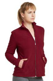 12 Units of ET TU LADIES POLAR FLEECE JACKET -L - Women's Winter Jackets