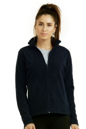 12 Units of ET TU LADIES POLAR FLEECE JACKET - M - Women's Winter Jackets