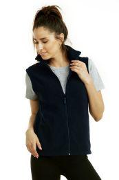 12 Units of ET TU LADIES POLAR FLEECE VEST - L - Women's Winter Jackets