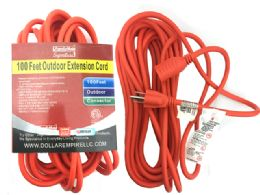 24 Units of Etl Ul Std. Outdoor Extension Cord - Electrical