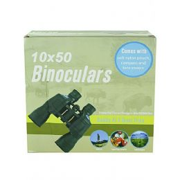 6 Units of Binoculars With Compass - Binoculars & Compasses
