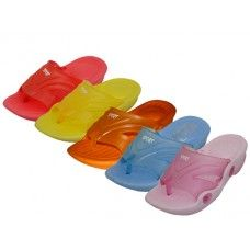 60 of Toddler's Squeaky Flip Flop Sandals
