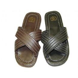60 Units of Boys' X-Band Slippers - Boys Flip Flops & Sandals