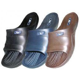 36 Units of Boy's Rubber Sport Shower Slides - Boys Flip Flops & Sandals