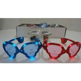 240 Units of Light Up GlasseS-Skulls - Novelty & Party Sunglasses