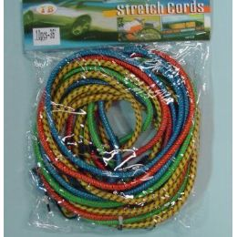 """24 Units of 8pcs 36"""" Bungee Cord - Rope and Twine"""
