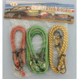 24 Units of 6 Piece Bungee Cord - Rope and Twine