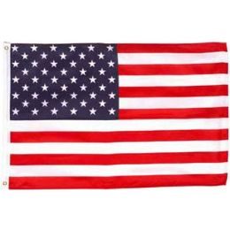 144 Units of 3'x5' Polyester American Flag - 4th Of July